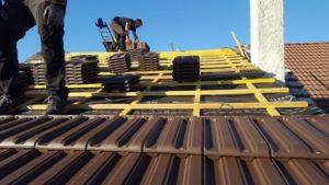 Réparation toiture Bussy Saint Georges