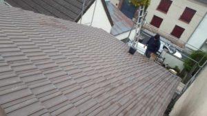 Recherche de fuite toiture et remplacement de tuiles 77600