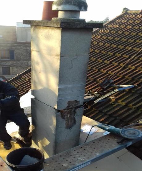 Ramonage cheminée par un professionnel